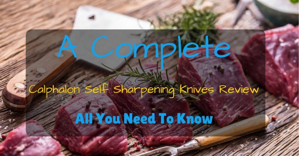 calphalon self sharpening knives review
