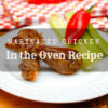 Marinated Chicken In the Oven Recipe
