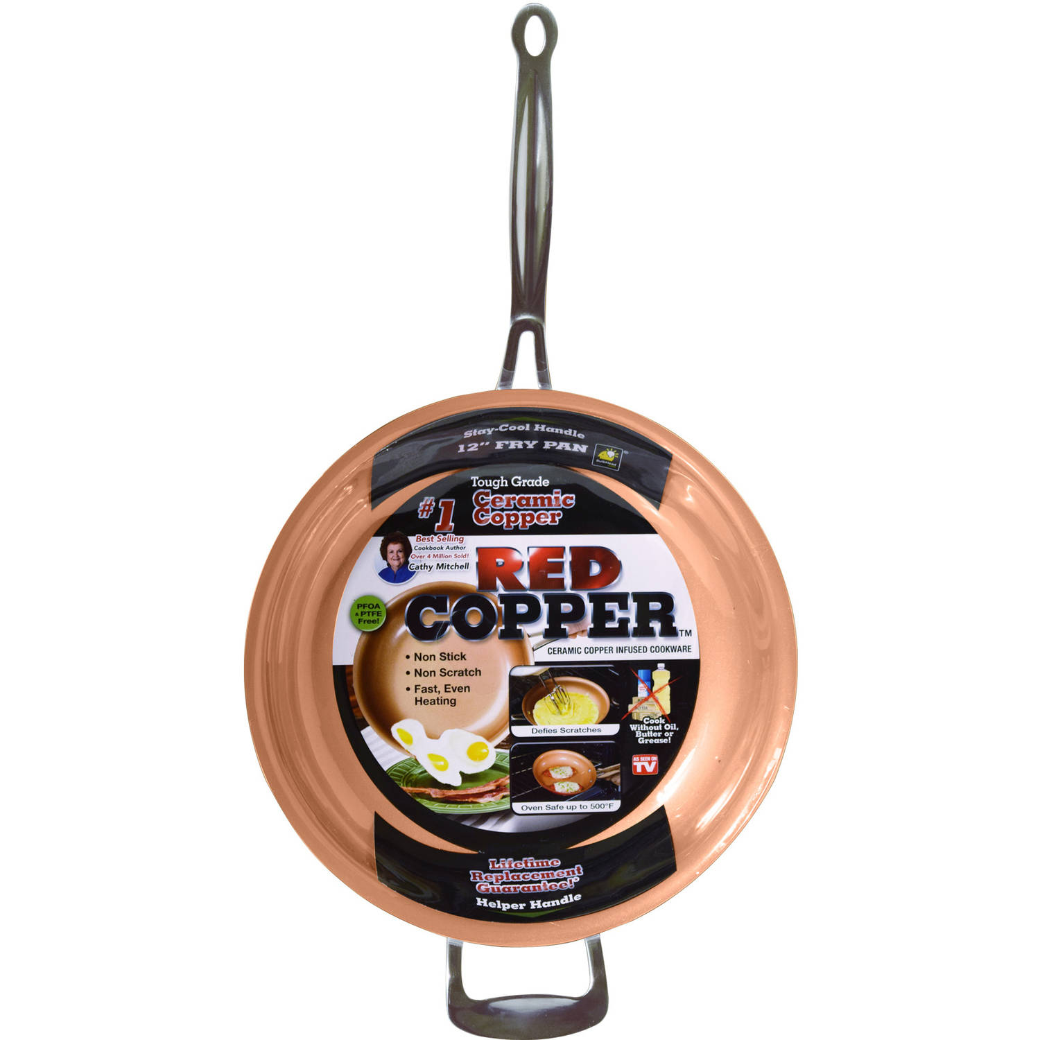 12-Inch Red Copper