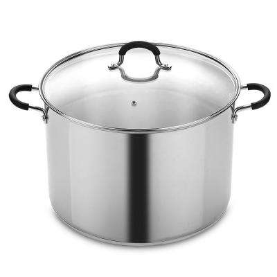 Cook N Home 20 Quart Stainless Steel Stockpot