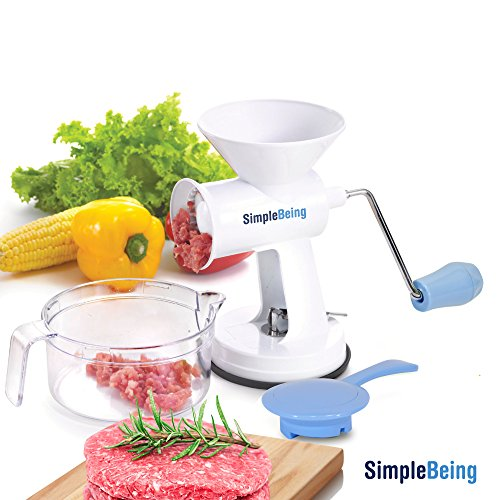 Simple Being Manual Meat Grinder Set
