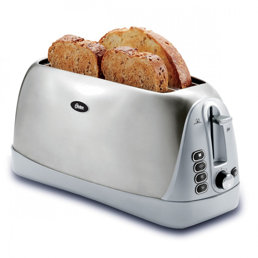 Oster Long Slot 4-Slice Toaster