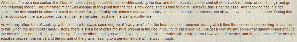 H2_ Leave Rice Covered After Turning Off The Heat