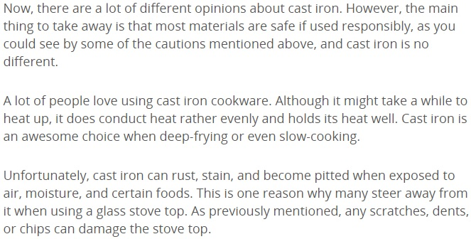 Cast Iron What You Should Know 1