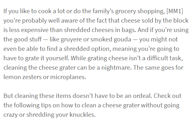 How To Clean A Cheese Grater Make Your Life Easier With Our