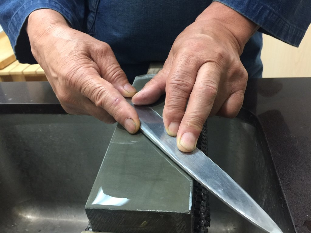 Sushi Knife Sharpening