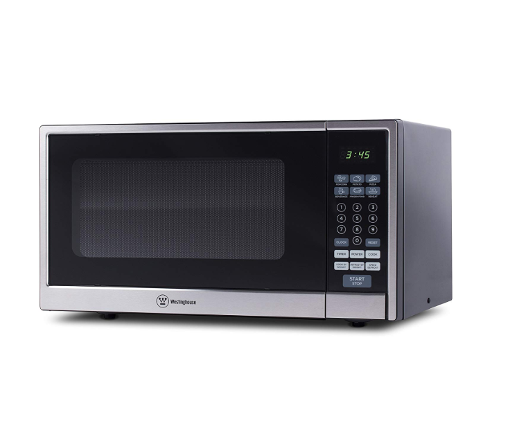 Westinghouse WCM11100SS Countertop Microwave Oven