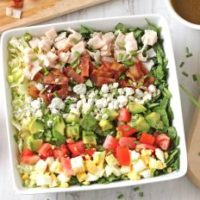 Cobb Salad with Derby Dressing