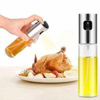 Oil Sprayer,Olive Oil Sprayer Mister Food-grade Glass Oil Sprayer for Cooking Oil Sprayer,Food-grade Glass Olive Oil Sprayer for Cooking