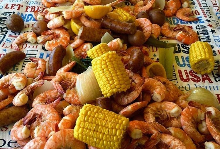 Shrimp Boils are a perfect meal for a crowd. Easy to prepare for any celebration or tailgate party.