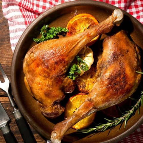 Fried Goose Recipe