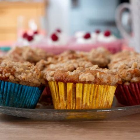 Quick Apple Cranberry Pear Muffins Recipe