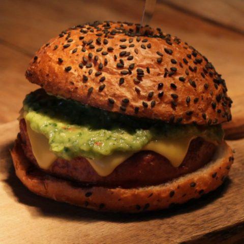 Low-Fat Chicken Burger Recipe