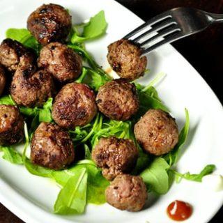 wild rice meatballs