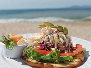 Open Faced Shrimp Salad Sandwich Recipe Warmchef Com