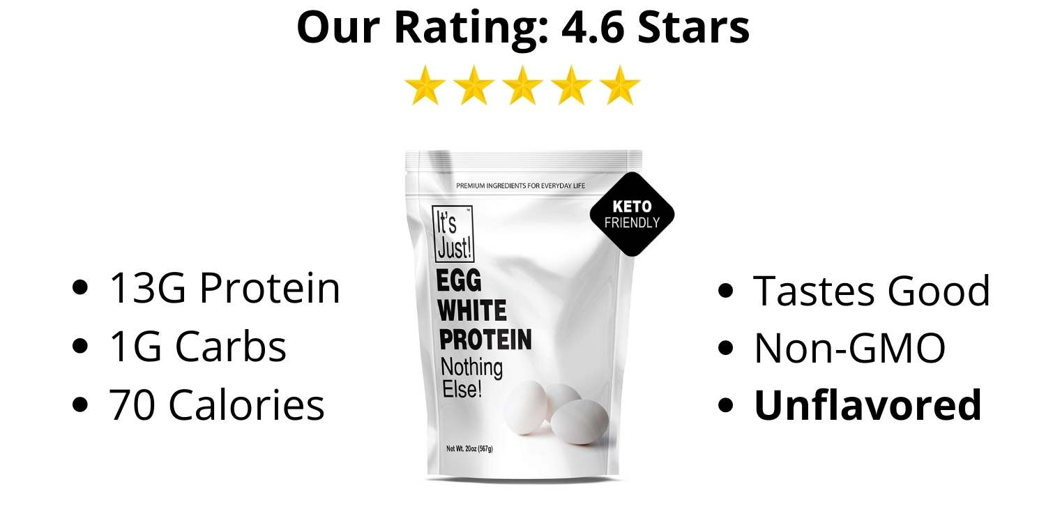It's Just Egg White Protein Powder Review