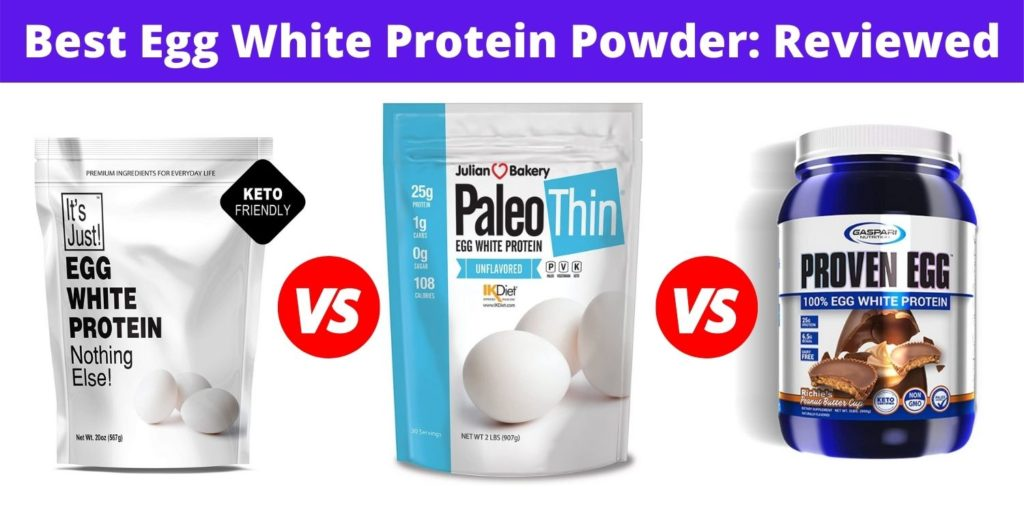 best egg white protein powder