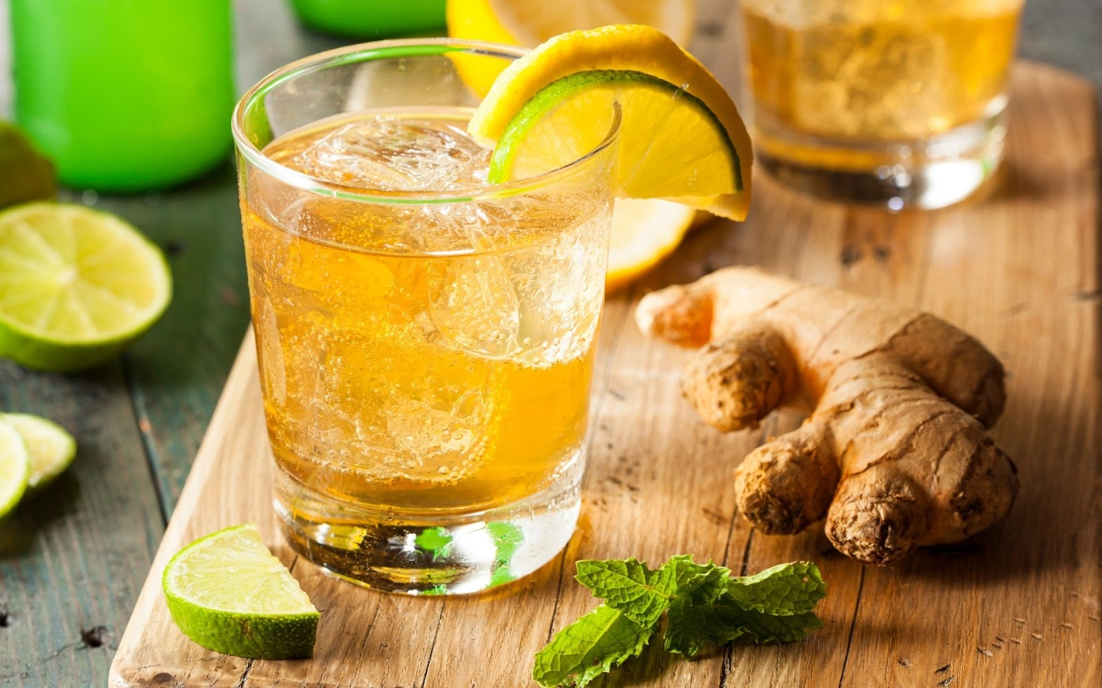 is ginger ale healthy?